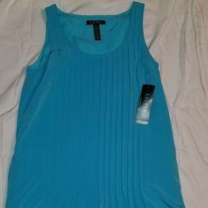 New Ralph Lauren Turquoise Full Cut Dress